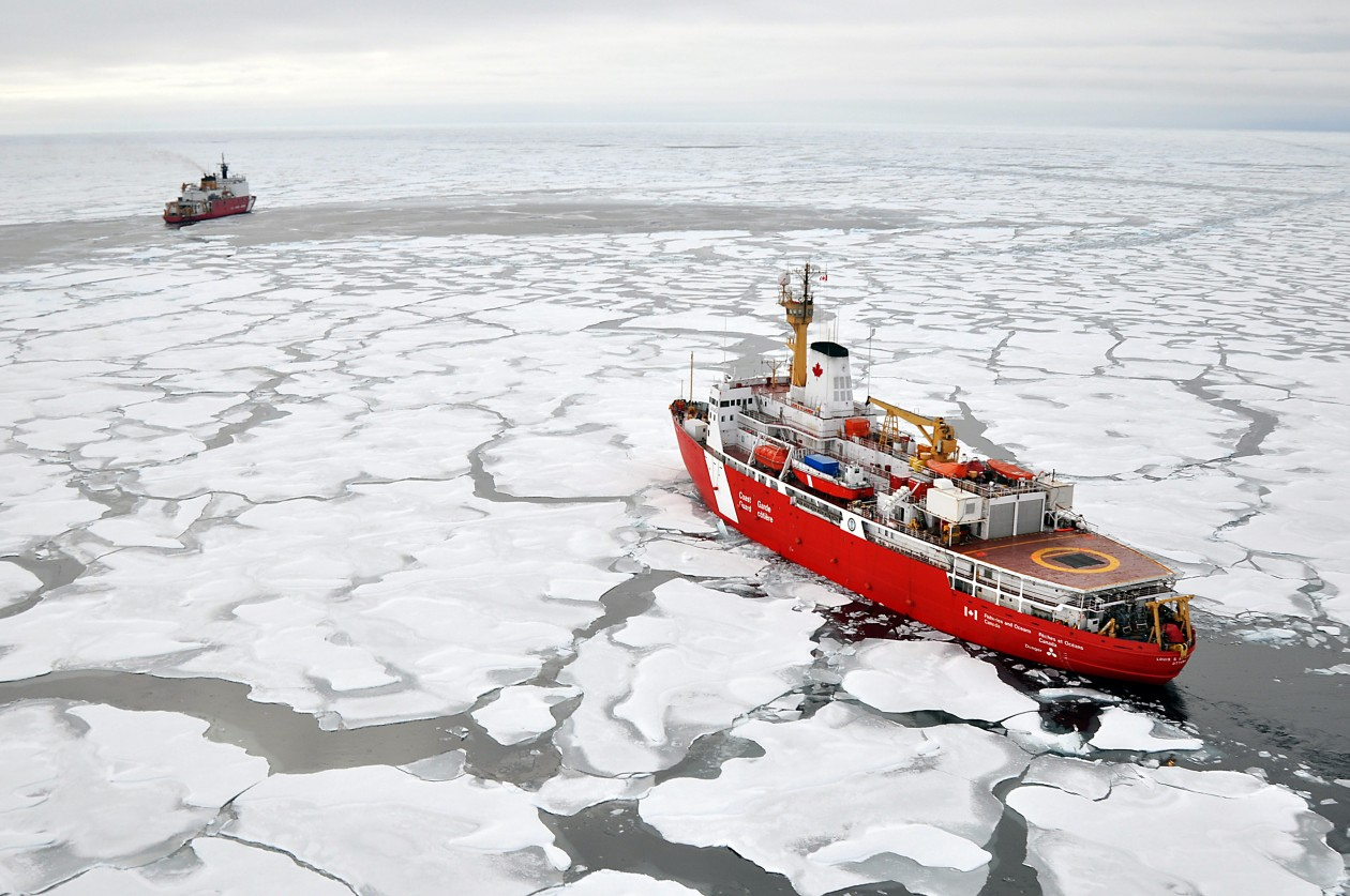 Arctic Shipping Photo Credit: Patrick Kelley, U.S. Coast Guard