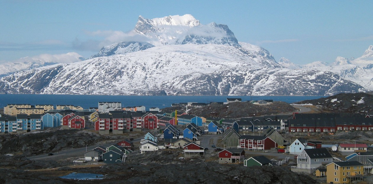 Nuuk City by Oliver Schauf