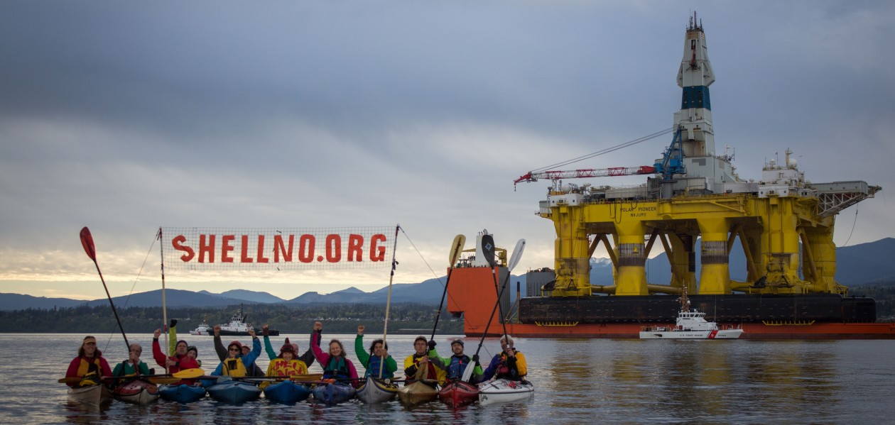 ShellNo Activists Photo Credit: Charles Conatzer & the sHellNo! Action Council